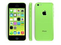 2x iPhone 5c YELLOW & GREEN