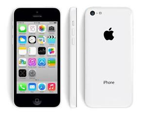 THE CELL SHOP has Factory Refurbished iPhone 5c, White, 16gb, work on Bell or Virgin (5 in Stock)