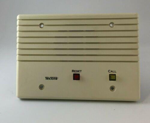 TekTone Nurse Call System 1R250 Genuine, NEW