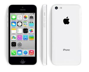 BLANC WHITE APPLE IPHONE 5C TELUS 16GB 100% FONCTIONNEL WIFI TOUCHSCREEN 5G MUSIC GSM iOS CAMERA BLUETOOTH GPS MUSIQUE