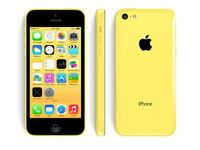 Sim Free IPhone 5C Yellow