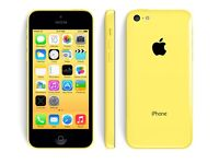 iPhone 5c. 16gb. Yellow. On 02, giffgaff and tesco network. Very good condition. £95 fixed price