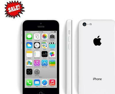 New Apple iPhone 5C 16GB White AT&T Factory GSM Unlocked 4G LTE Smartphone