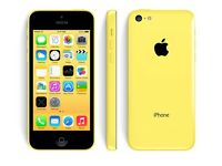 UNLOCKED iPhone 5c 8gb - brand new genuine battery and original charger