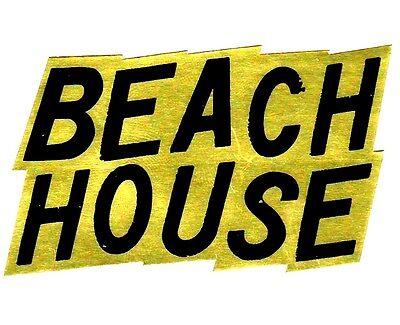 BEACH HOUSE 2016 Ltd Ed New RARE Sticker +FREE Indie/Rock/Punk Stickers!
