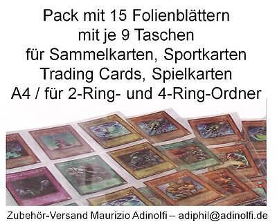 Folienblätter für Sammelkarten Trading Cards Sportkarten Match Attax Adrenylyn