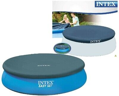Intex 12-Foot Diameter Round Easy Set and Frame Pool Cover