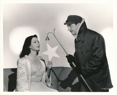 HEDY LAMARR WILLIAM POWELL Vintage 1944 HEAVENLY BODY CLARENCE BULL MGM Photo