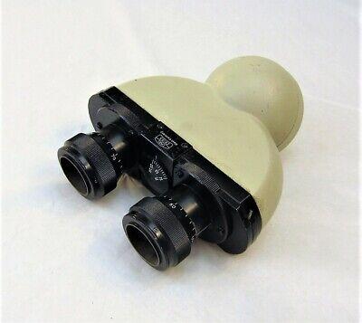 Zeiss 125x Binocular Microscope Head