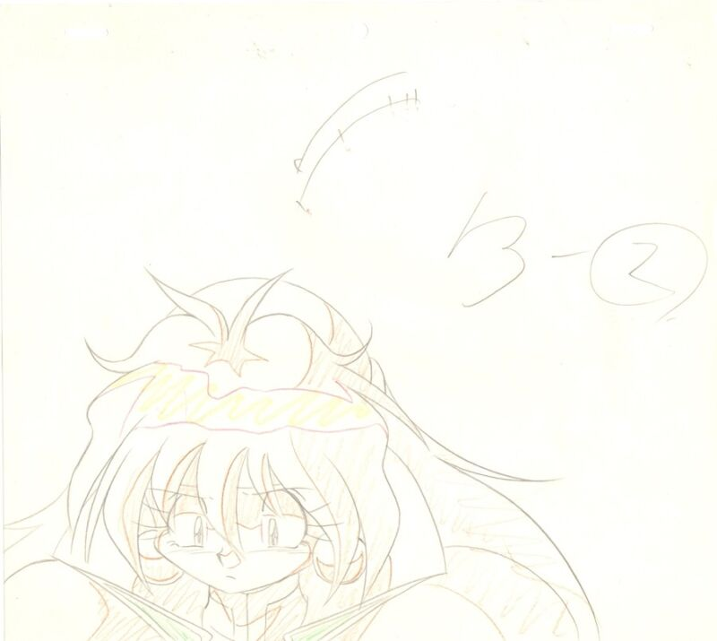 Anime Genga not Cel Slayers #171