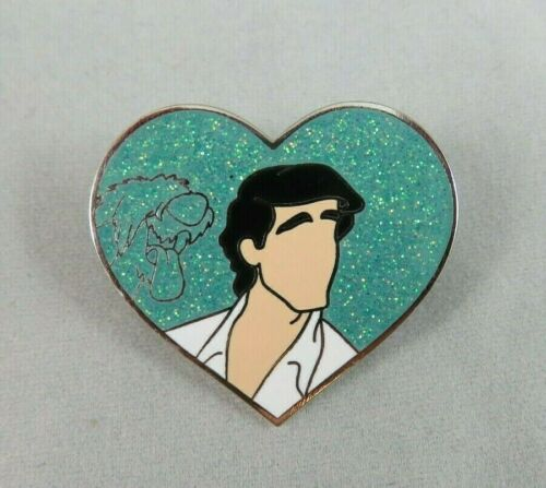 Disney Fantasy Pin - Eric - with Max - The Little Mermaid - Character Heart
