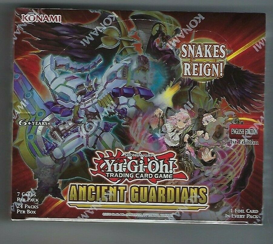Ancient Guardians Booster Box YuGiOh TCG 1st Edition English SEALED