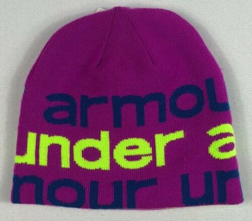 Youth Under Armour REVERSIBLE Beanie One Size