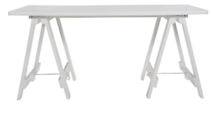 Freedom furniture Stationers Trestle Desk Miami Gold Coast South Preview