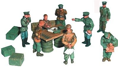 Artmaster 80.398 Figurensatz Offiziere Lagebesprechung H0 1 87 XX Soldaten
