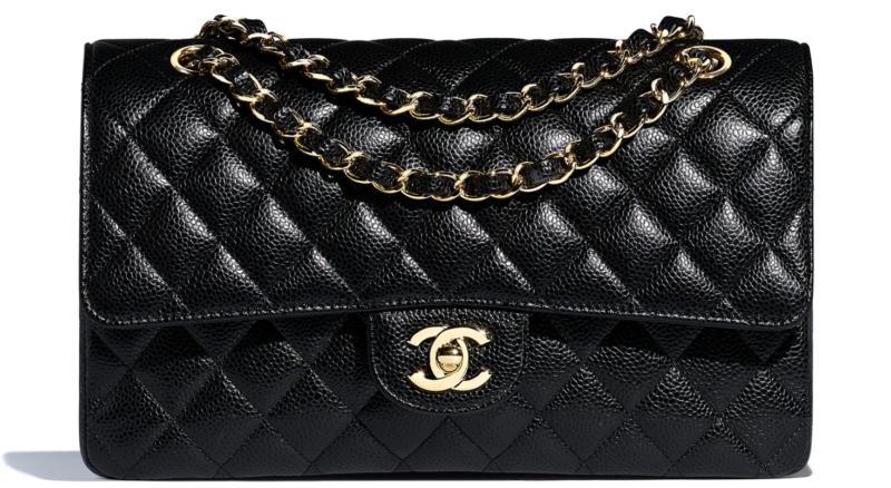 45cace50cbbd NEW Chanel Classic Handbag | Grained Calfskin & Gold-Tone Metal ...