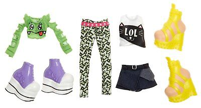 Bratz Deluxe Fashion Pack 2: Raya and Jade Doll Clothes Set 2 Complete Outfit