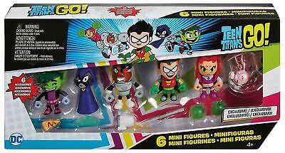 Mattel Kids Teen Titans GO! Mini Figures 6 Pack FPV24