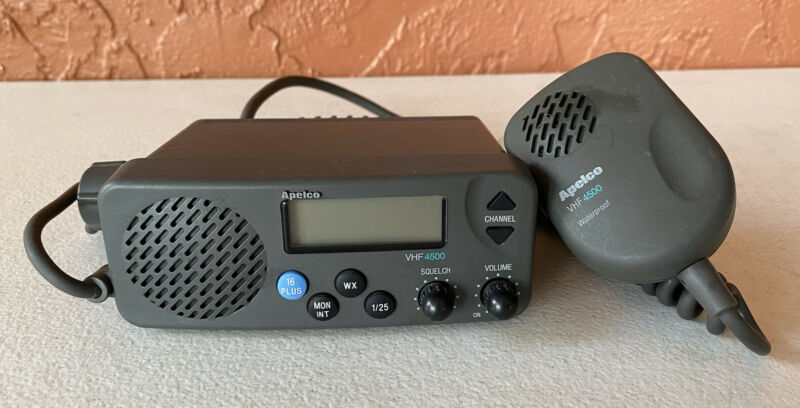RAYTHEON APELCO VHF 4500 MARINE WEATHER RADIO