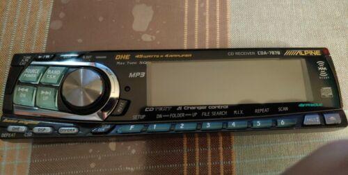Alpine cda-7878 faceplate