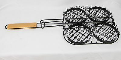 YNNI Burger Grilling Basket BBQ Grill Kamado Oven Big Green Egg Heavy TQQKJ - Big Green Egg Bbq-grill