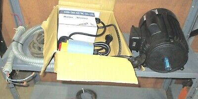 3 Hp Motor From Shop Fox W1702 Shaper With Switch Electronics Fr New