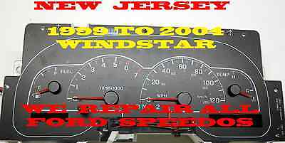 1999 to 2003 Ford Windstar Instrument PRICE ADJUSTMENT FOR TACHOMETER REPLACEMEN