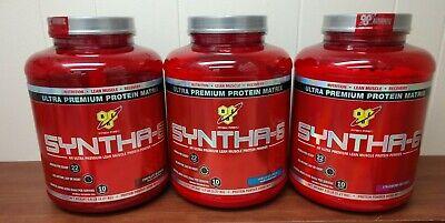 Lean Protein (BSN  Syntha-6 Protein Powder 5LB Ultra Premium Lean Matrix 5 LB (Choose)