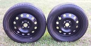 "15"" TRAILER WHEELS AND TYRES 4 STUD 4X100MM 195/50R15 4x100 pcd Kallangur Pine Rivers Area Preview"