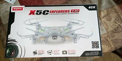 Syma X5C-1 RC Quadcopter Drone 6-Axis Drone ***Employed still in good condition***