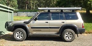 Nissan Patrol GU Wagon 4.2 Turbo Diesel Dover Huon Valley Preview