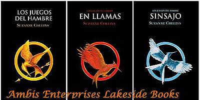 Hunger Games Trilogy Spanish Los Juegos Del Hambre Trilogio  En Llamas  Sinsajo