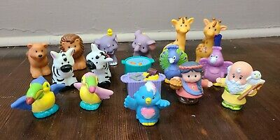 Fisher Price Little People Noah's Ark Zoo Animal Figures Set