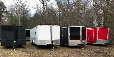 2019 8.5 x 24' V-Nose Enclosed Trailer Race Car Cargo *FREE DELIVERY MD VA NC SC