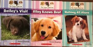 Three Scholastic The Puppy Collection Books.