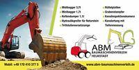 Baumaschinen, Minibagger, Bagger, Radlader, Dumper, Mieten Bayern - Helmstadt Vorschau