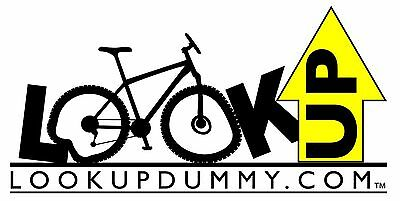 LOOK UP DUMMY 2for1 Sale! The Best Car Bike & Gear Roof Rack Reminder &