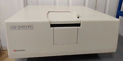 Shimadzu Uv-2401pc Recording Spectrophotometer
