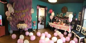 HUGE LOT OF FIRST BIRTHDAY DECORATIONS GIRL