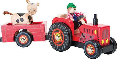 Traktor mit Anhänger vom Bauernhof Spielzeugauto Spielzeug Kinder Auto