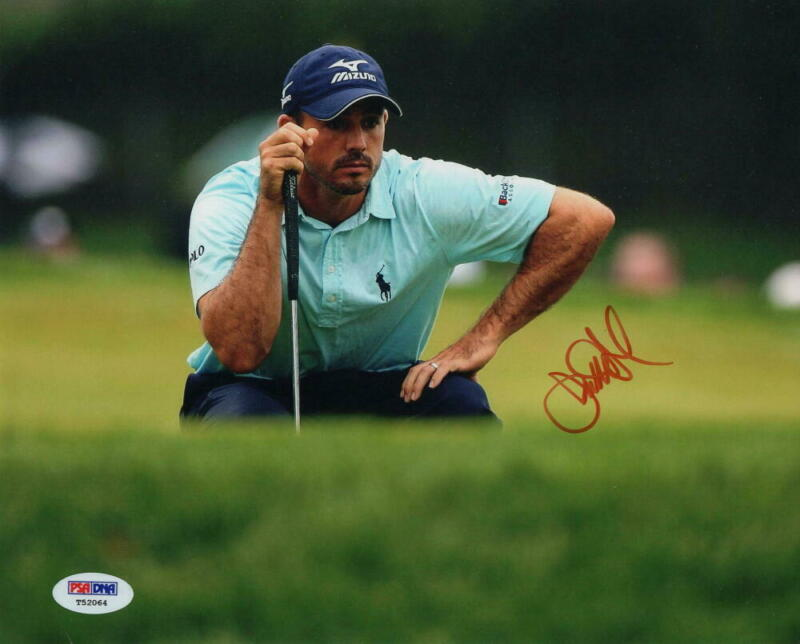 JONATHAN BYRD SIGNED AUTOGRAPH 8x10 PHOTO - 2002 PGA TOUR ROOKIE OF THE YEAR PSA