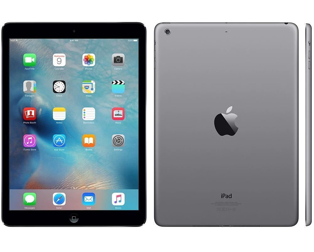 Apple iPad Air 1st WiFi + Cellular Unlocked I 16GB 32GB 64GB 128GB I Gray Silver Gray