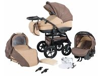 Zipy pram pushchair stroller buggy 3 in1 from Baby-Merc (used for 5 months)