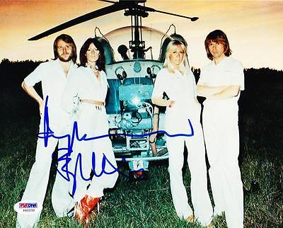 BJORN ULVAEUS BENNY ANDERSSON SIGNED ABBA 8X10 PHOTO AUTOGRAPH PSA/DNA COA