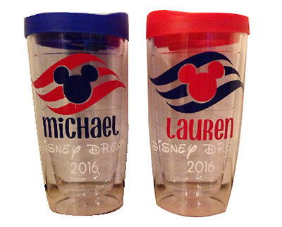 Disney Cruise Line Inspired Personalized Tumbler Fish Extender Gifts](Disney Personalized Gifts)