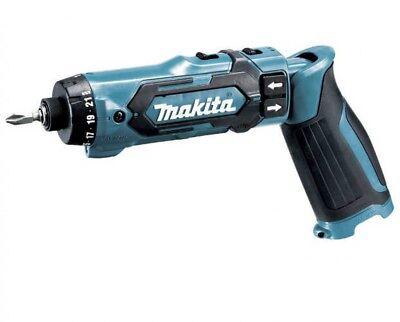 Makita DF012DZ sin Cables Pluma Tipo Conductor Taladro 7.2V Azul Cuerpo Only