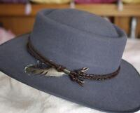 Men's Grey Akubra hat-***NEW*****from Australia