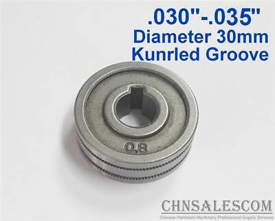 0.8-0.9 Kunrled-groove Mig Welder Wire Feed Drive Roller Roll .030-.035