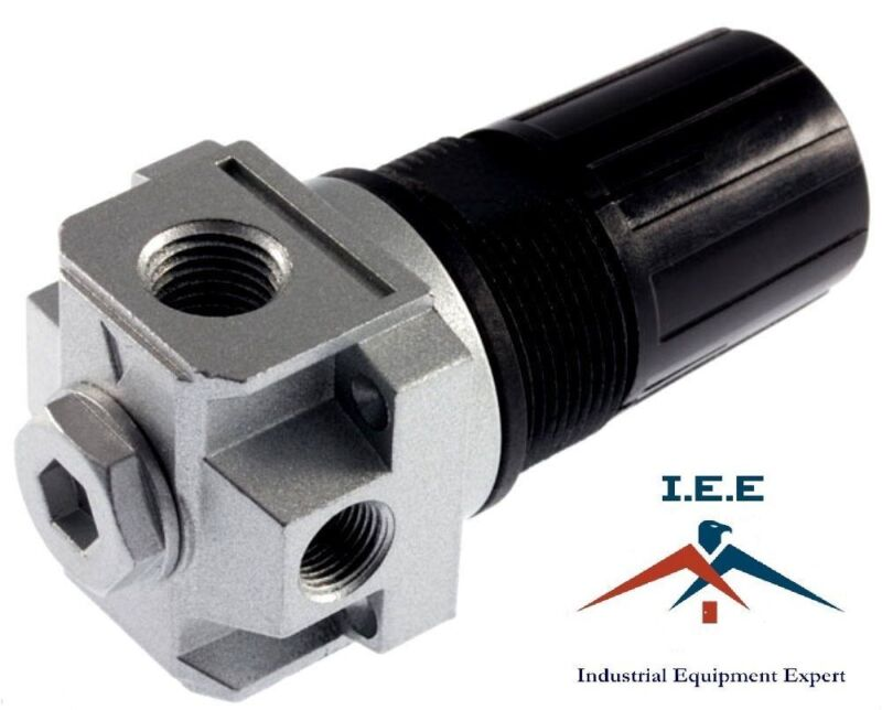 "4 Port 1/4"" Air Compressor Regulator P1P2 Port Devilbiss Craftsman Replacement"