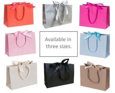 Mother's Day Wedding Birthday Anniversary Baby Party ~ Ribbon Tie Bow Gift Bags